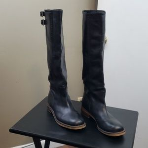 Lucky brand black boots tall